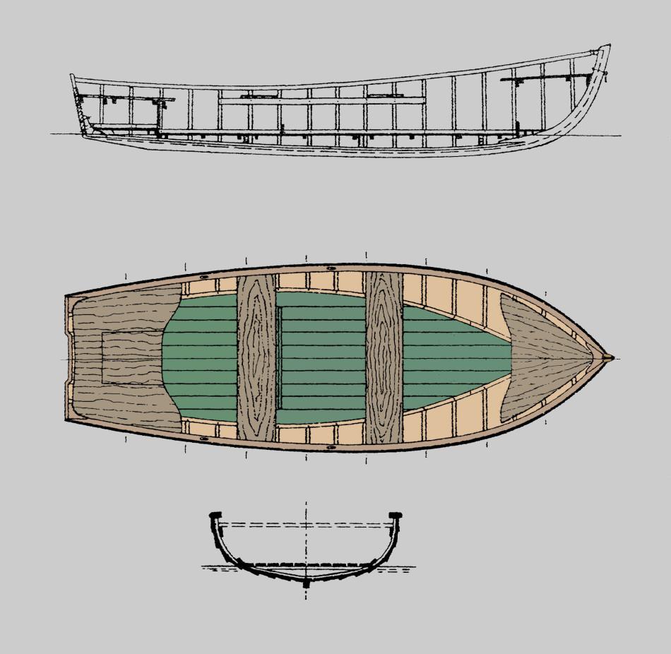 Hel båt 2.4grå