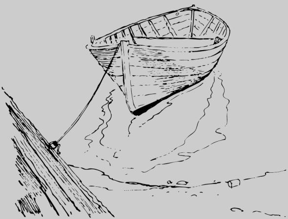 Skötbåt Trysunda